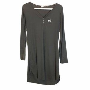 Calvin Klein Grey PJ dress/tunic matching pants